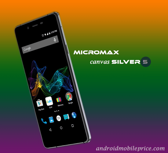 micromax canvas silver 5 specs & price in bangladesh