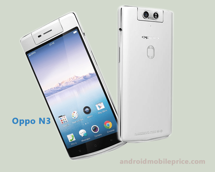 Oppo N3 Mobile Specification & Price in Bangladesh
