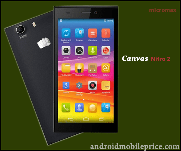 Micromax canvas nitro 2 price in bangladesh
